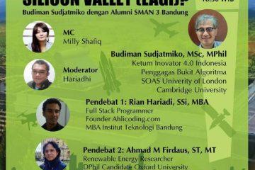 "Debat Santuy:  Budiman Sudjatmiko & Alumni SMAN 3 Bandung: ""Silicon Valley (Lagi)?"""